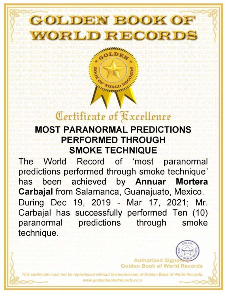 récord mundial