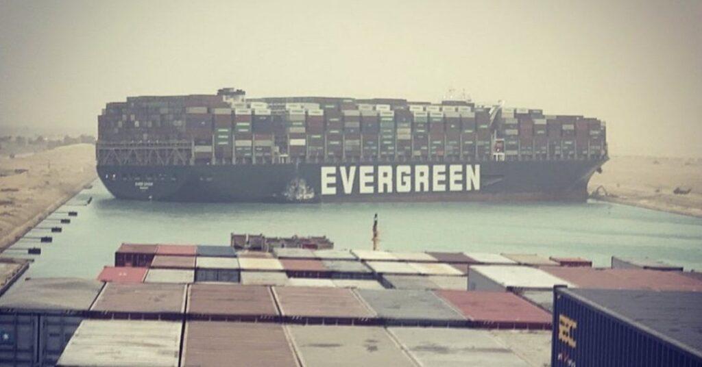 Evergreen canal de suez