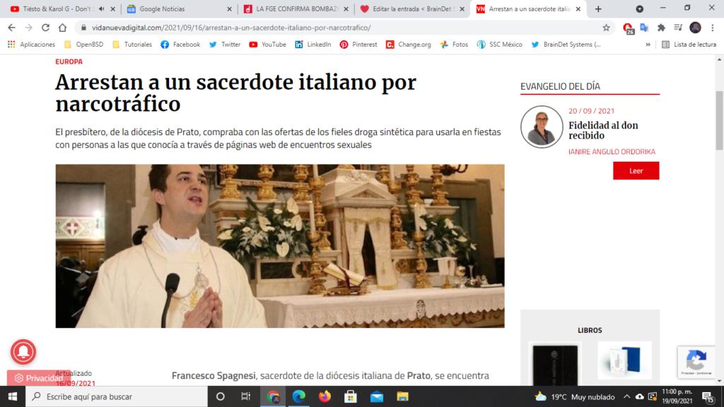 sacerdote narco