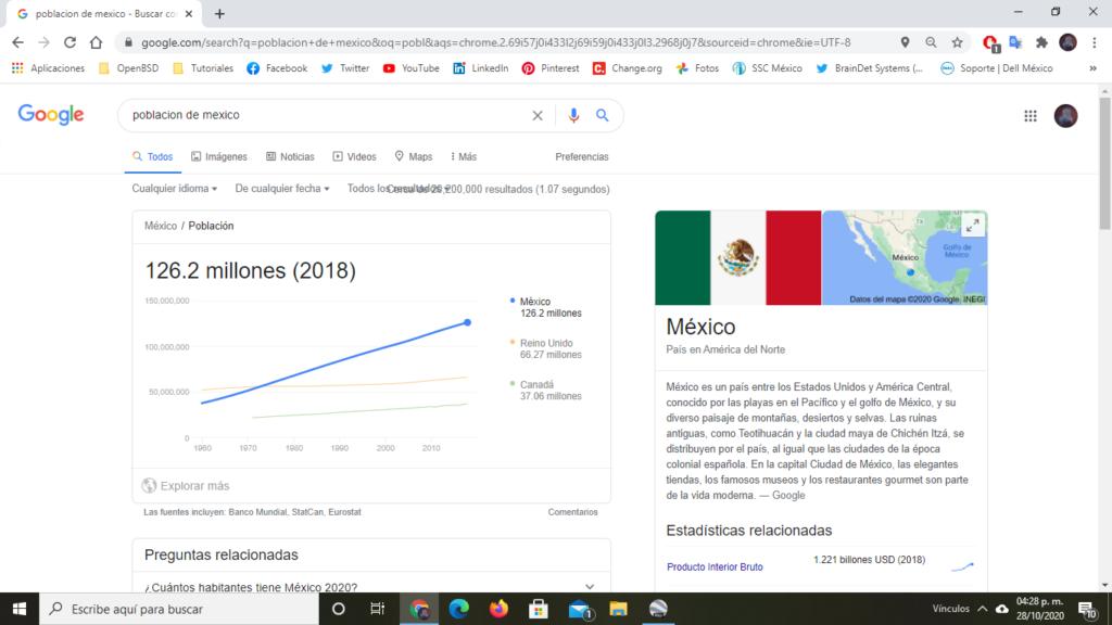 población de México
