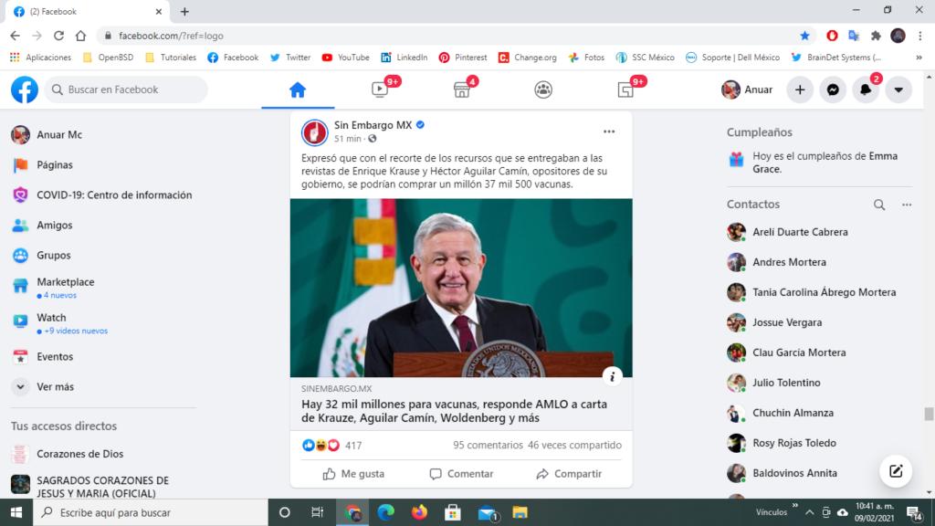 dinero para vacunas en México